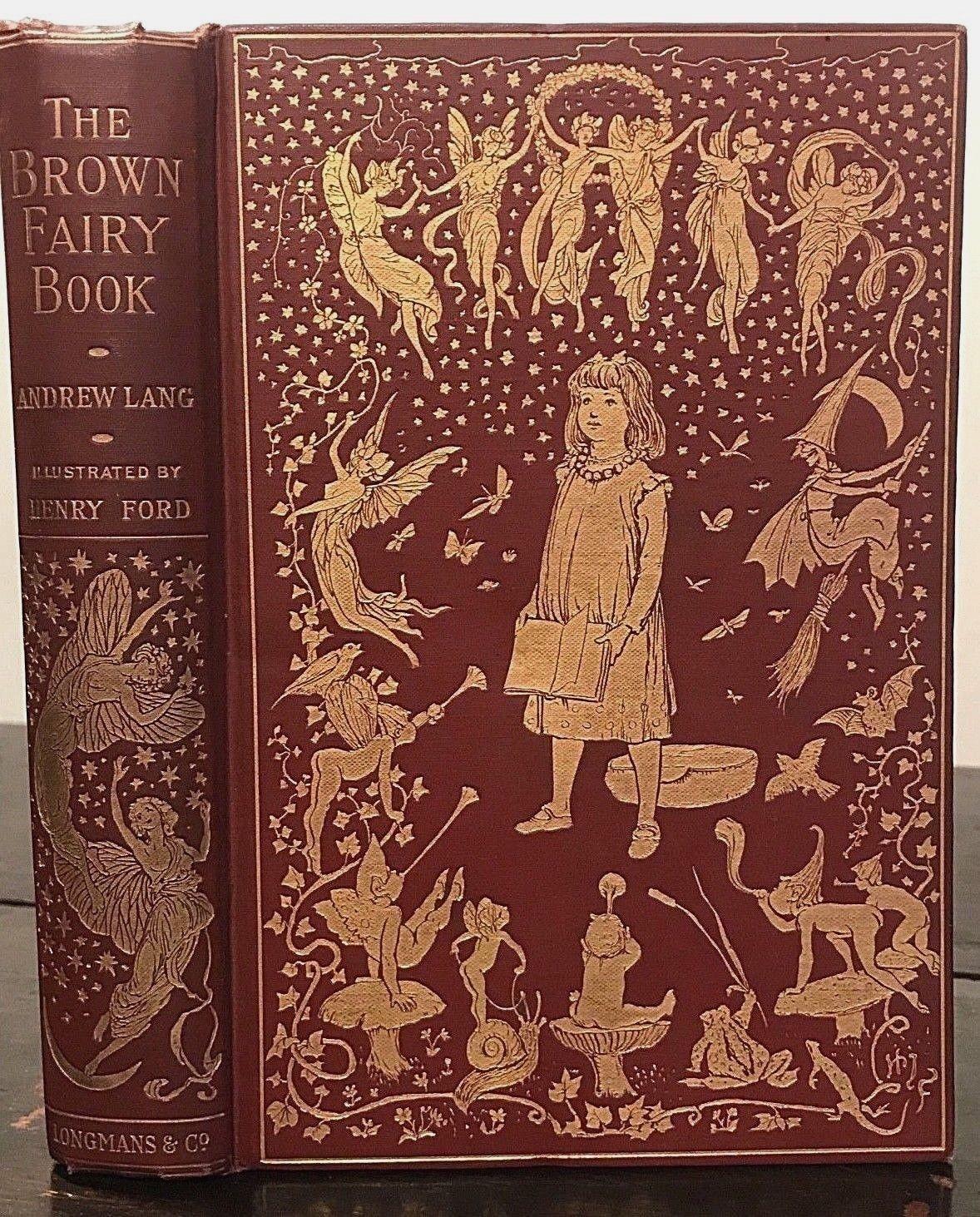 brown fairy book